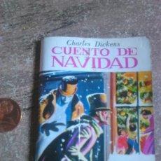 Libros de segunda mano: MINIBIBLIOTECA,CUENTO DE NAVIDAD,CHARLES DICKENS,AÑO 1982. Lote 108374292