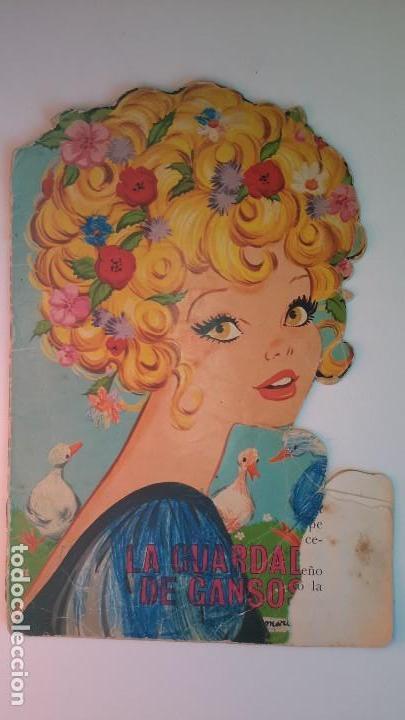 CUENTO TROQUELADO. LA GUARDADORA DE GANSOS. GRIMM. IL. MARIA PASCUAL. TORAY 1967. (Libros de Segunda Mano - Literatura Infantil y Juvenil - Cuentos)