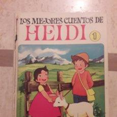 Libros de segunda mano: LOS MEJORES CUENTOS DE HEIDI 1. 1975.. Lote 108825280