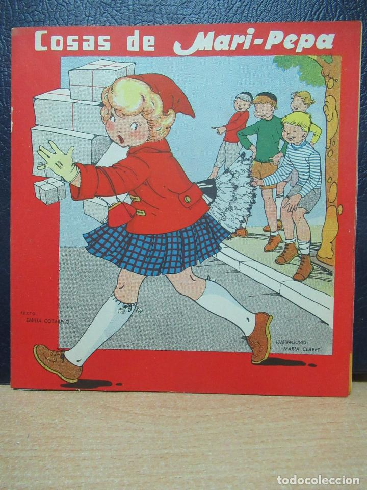 MARI PEPA. COSAS DE MARI PEPA . ILUSTRACIONES DE MARIA CLARET - TEXTO DE EMILIA COTARELO TZ (Libros de Segunda Mano - Literatura Infantil y Juvenil - Cuentos)