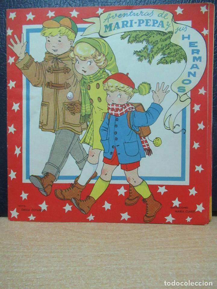 MARI PEPA. AVENTURAS DE MARI PEPA . ILUSTRACIONES DE MARIA CLARET - TEXTO DE EMILIA COTARELO TZ (Libros de Segunda Mano - Literatura Infantil y Juvenil - Cuentos)
