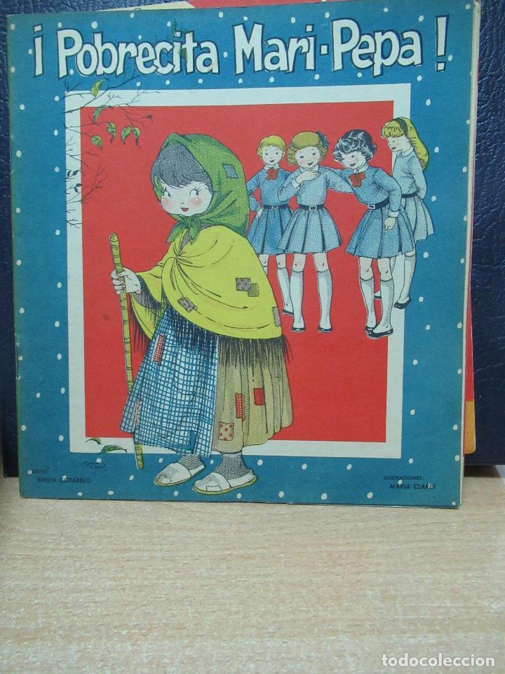 POBRECITA MARI PEPA ILUSTRACIONES DE MARIA CLARET - TEXTO DE EMILIA COTARELO (Libros de Segunda Mano - Literatura Infantil y Juvenil - Cuentos)
