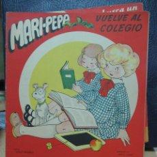 Libros de segunda mano: MARI PEPA VUELVE AL COLEGIO ILUSTRACIONES DE MARIA CLARET - TEXTO DE EMILIA COTARELO TZ. Lote 109186855