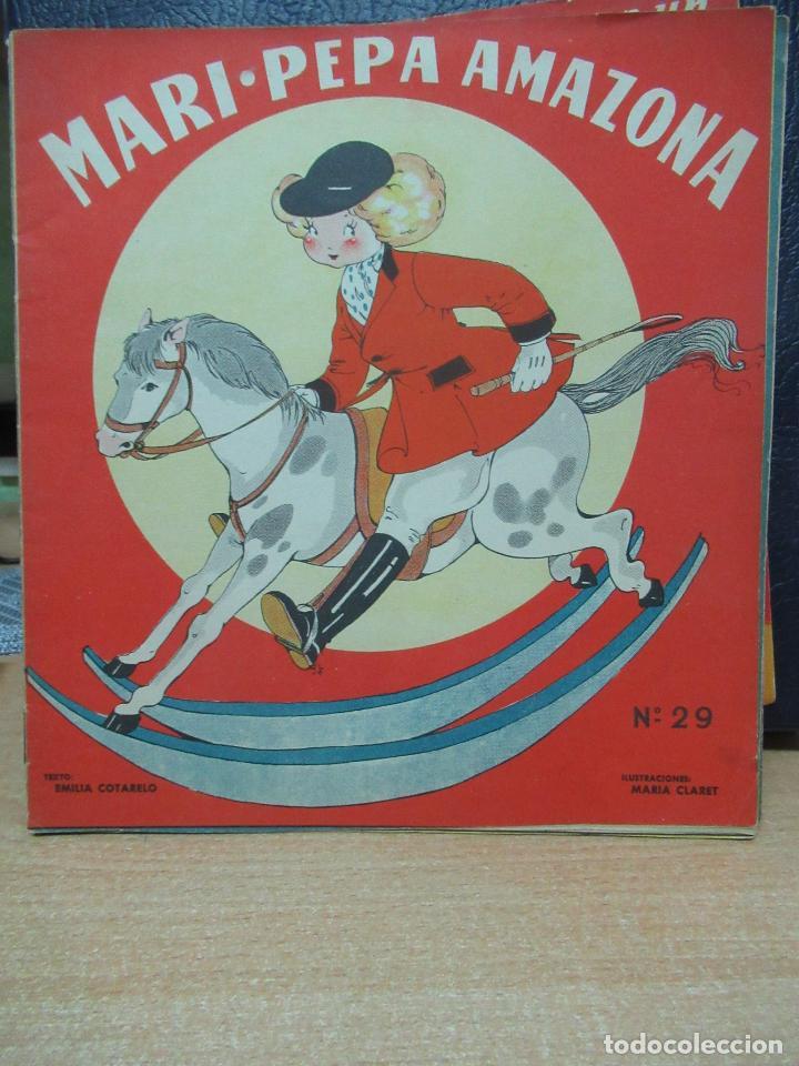 MARI PEPA AMAZONA ILUSTRACIONES DE MARIA CLARET - TEXTO DE EMILIA COTARELO TZ (Libros de Segunda Mano - Literatura Infantil y Juvenil - Cuentos)