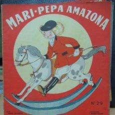 Libros de segunda mano: MARI PEPA AMAZONA ILUSTRACIONES DE MARIA CLARET - TEXTO DE EMILIA COTARELO TZ. Lote 109187859