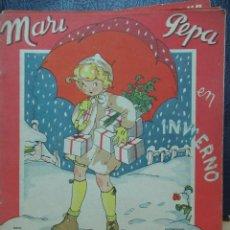 Libros de segunda mano: MARI PEPA EN INVIERNO ILUSTRACIONES DE MARIA CLARET - TEXTO DE EMILIA COTARELO TZ. Lote 109188223