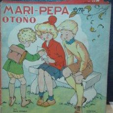 Libros de segunda mano: MARI PEPA EN OTOÑO ILUSTRACIONES DE MARIA CLARET - TEXTO DE EMILIA COTARELO TZ. Lote 109188283