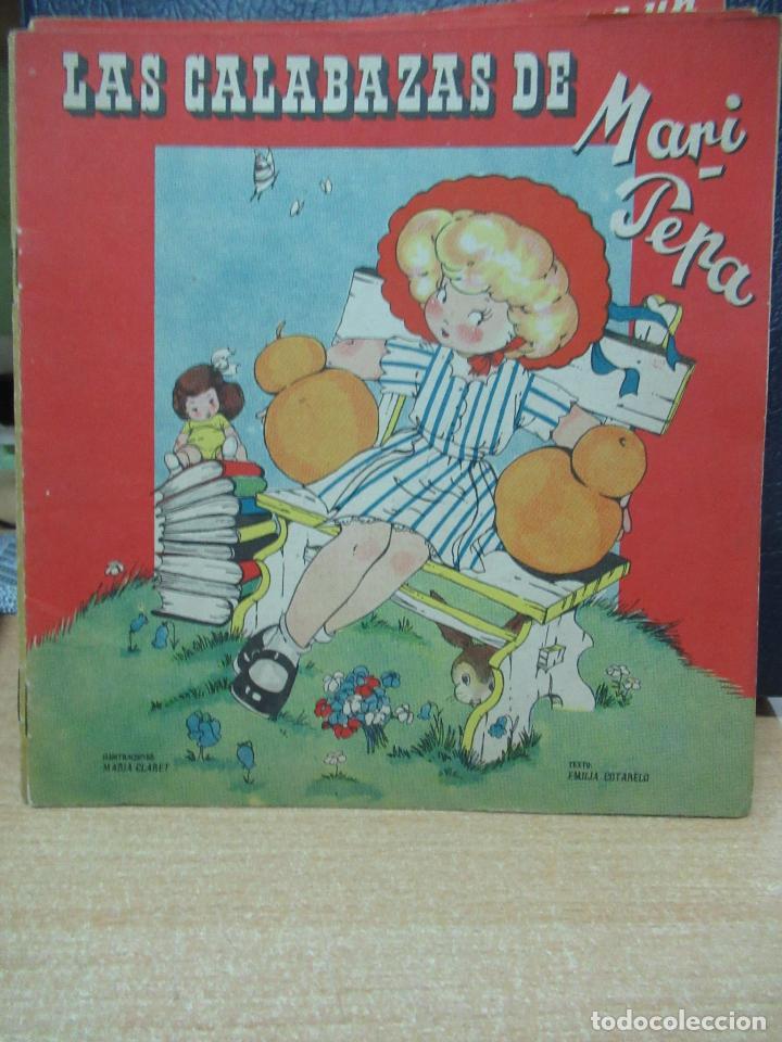 LAS CALABAZAS DE MARI PEPA ILUSTRACIONES DE MARIA CLARET - TEXTO DE EMILIA COTARELO TZ (Libros de Segunda Mano - Literatura Infantil y Juvenil - Cuentos)