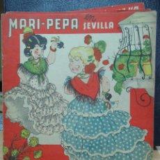 Libros de segunda mano: MARI PEPA EN SEVILLA ILUSTRACIONES DE MARIA CLARET - TEXTO DE EMILIA COTARELO TZ. Lote 109188847