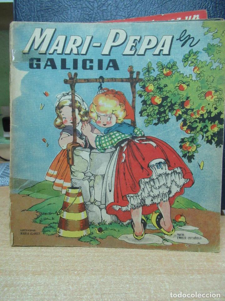 MARI PEPA EN GALICIA ILUSTRACIONES DE MARIA CLARET - TEXTO DE EMILIA COTARELO TZ (Libros de Segunda Mano - Literatura Infantil y Juvenil - Cuentos)