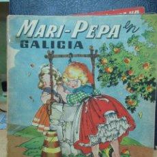 Libros de segunda mano: MARI PEPA EN GALICIA ILUSTRACIONES DE MARIA CLARET - TEXTO DE EMILIA COTARELO TZ. Lote 109189167