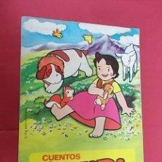 Libros de segunda mano: CUENTOS HEIDI. Nº 11. EL EDELWEISS. BRUGUERA. Lote 109405687