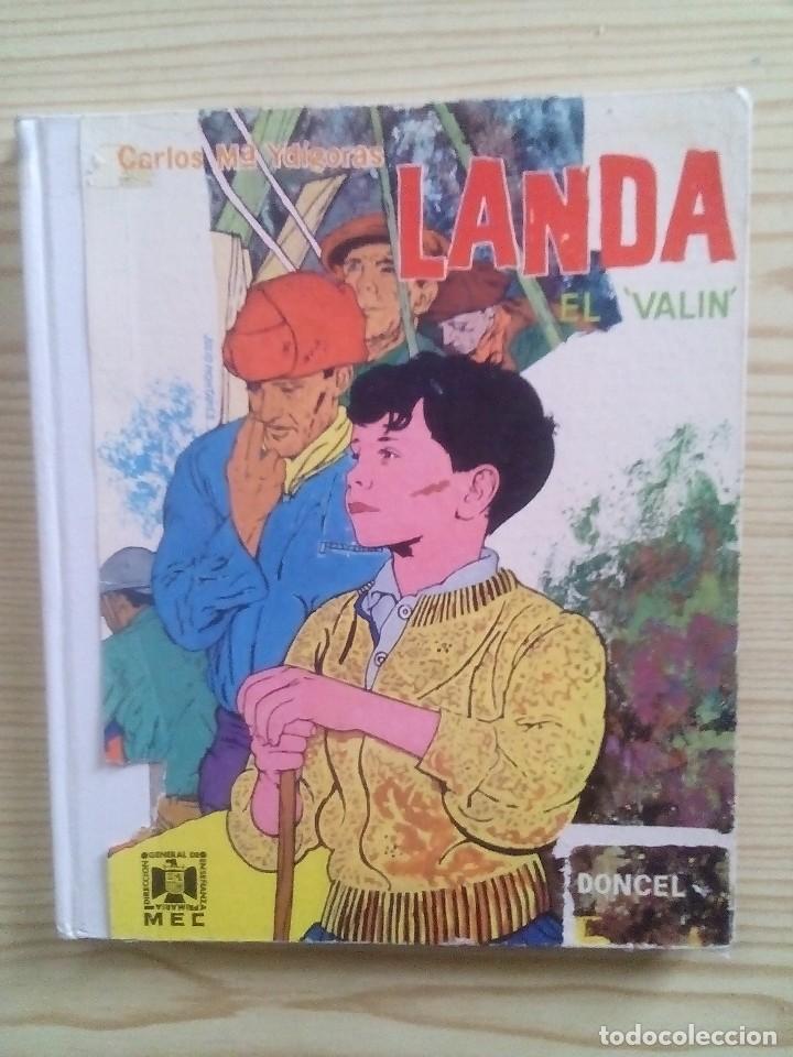 LA BALLENA ALEGRE - LANDA EL VALIN - DONCEL (Libros de Segunda Mano - Literatura Infantil y Juvenil - Cuentos)
