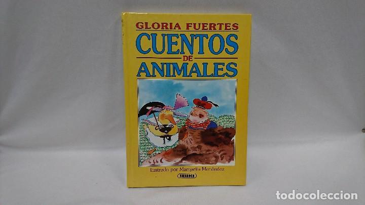 GLORIA FUERTES, CUENTOS DE ANIMALES (Libros de Segunda Mano - Literatura Infantil y Juvenil - Cuentos)