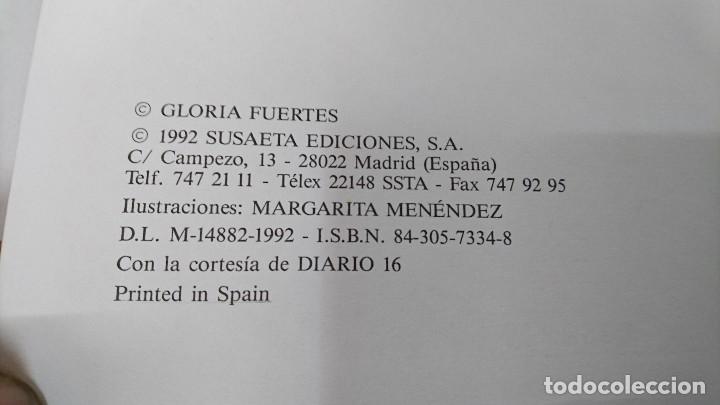 Libros de segunda mano: GLORIA FUERTES, CUENTOS DE ANIMALES - Foto 2 - 109563547