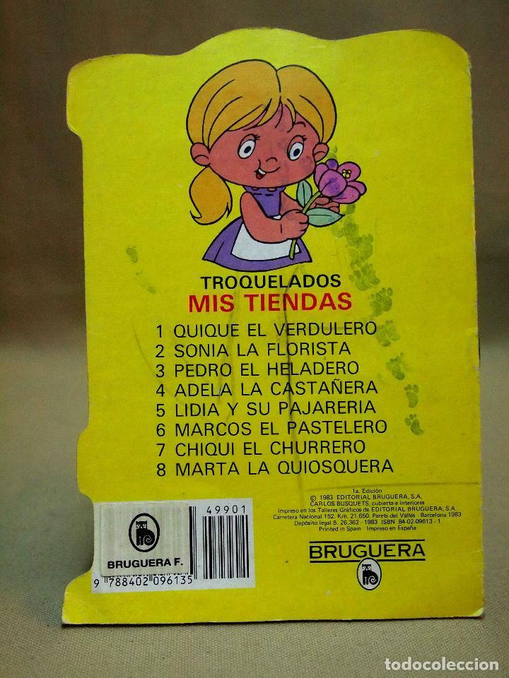 Libros de segunda mano: LIBRO INFANTIL, CHIQUI EL CHURRERO, Nº 7, EDITORIAL BRUGUERA, TROQUELADOS MIS TIENDAS, 1983 - Foto 2 - 109716427