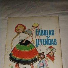 Libros de segunda mano: FABULAS Y LEYENDAS ILUSTRACIONES MARIA PASCUAL TOMO 12 ESTADO BUENO. Lote 110070635