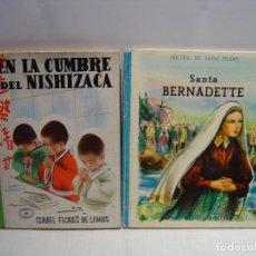 Libros de segunda mano: LOTE DE 2 LIBROS INFANTILES ANTIGUOS TEMA RELIGIOSO. Lote 110145603