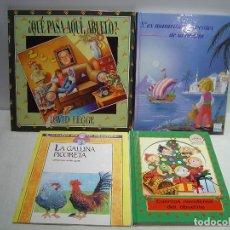 Libros de segunda mano: LOTE DE 4 LIBROS INFANTILES ABUELITAS Y ABUELITOS. Lote 110157783