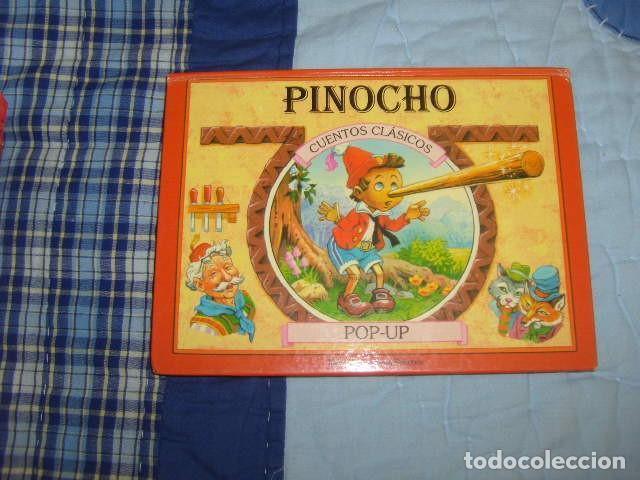 CUENTO POP - UP PINOCHO (Libros de Segunda Mano - Literatura Infantil y Juvenil - Cuentos)
