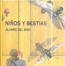 Libros de segunda mano: NIÑOS Y BESTIAS. ALVARO DEL ALMO. EDICIONES SIRUELA, S. A. 1992.. Lote 110436679