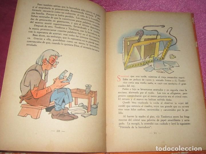 Libros de segunda mano: EL IMAN DE TEODORICO , CONSTANCIO C VIGIL , BIBLIOTECA INFANTIL ATLANTIDA , 1949 ILUST. F RIBAS - Foto 6 - 110622799