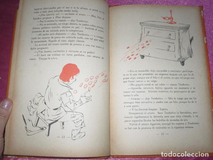 Libros de segunda mano: EL IMAN DE TEODORICO , CONSTANCIO C VIGIL , BIBLIOTECA INFANTIL ATLANTIDA , 1949 ILUST. F RIBAS - Foto 7 - 110622799