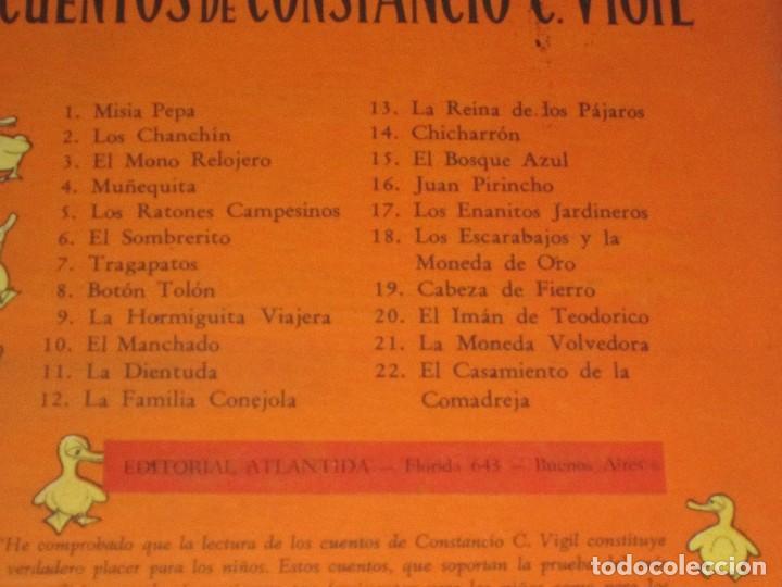 Libros de segunda mano: LA MONEDA VOLVEDORA CONSTANCIO C VIGIL , BIBLIOTECA INFANTIL ATLANTIDA , 1949 BUENOS AIRES - Foto 7 - 110623247