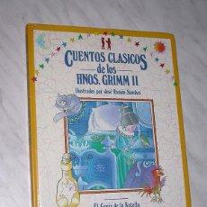 Libros de segunda mano: CUENTOS CLÁSICOS DE LOS HERMANOS GRIMM II. ILUST JOSÉ RAMÓN SÁNCHEZ. GENIO BOTELLA, REY RANA, BREMEN. Lote 110717731