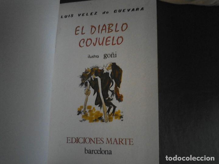 Libros de segunda mano: El diablo cojuelo Luis Velez de Guevara Marte - Foto 2 - 111018783