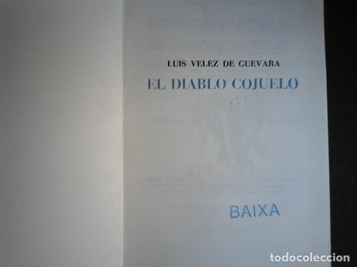 Libros de segunda mano: El diablo cojuelo Luis Velez de Guevara Marte - Foto 4 - 111018783