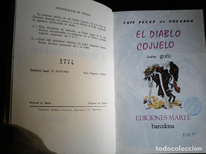 Libros de segunda mano: El diablo cojuelo Luis Velez de Guevara Marte - Foto 5 - 111018783