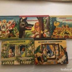Libros de segunda mano: 5 CUENTOS INFANTILES EN RELIEVE MOVIMIENTO 3D EN LENGUA ALEMANA. AÑOS 1966/67. Lote 111369751