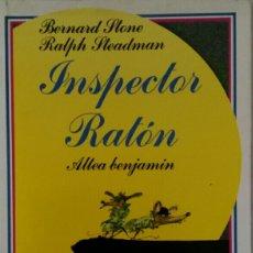 Libros de segunda mano: INSPECTOR RATÓN ALTEA STONE & STEADMAN. Lote 111821802