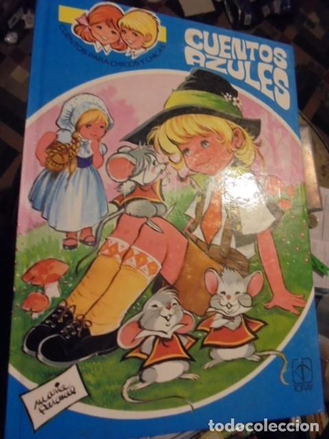 CUENTOS AZULES Nº 12 - MARIA PASCUAL - TORAY 1983 - 2ª ED - CARMELO GARMENDIA ILUSTRADOR - SIN USAR (Libros de Segunda Mano - Literatura Infantil y Juvenil - Cuentos)