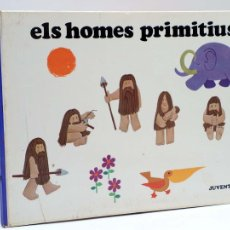 Libros de segunda mano: KUKURUKÚ 10. ELS HOMES PRIMITIUS (JORDI SALUDES) JUVENTUD, 1971. Lote 111603834
