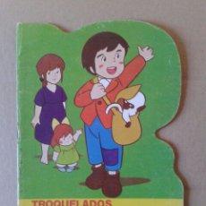 Libros de segunda mano: TROQUELADOS MARCO N°6: MARCO, FIORINA Y GIULIETTA. BRUGUERA, 1977.. Lote 111921287