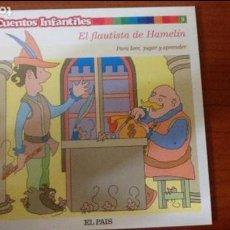 Libros de segunda mano: EL FLAUTISTA DE HAMELÍN. Lote 112003495