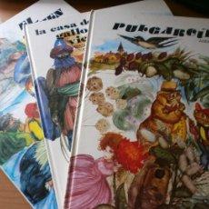 Libros de segunda mano: LOTE 5 LIBROS CUENTOS COLECCIÓN ESMERALDA - ILUSTRACIONES FERNANDO SAEZ - EDT. SUSAETA, MADRID 1971. Lote 91952715