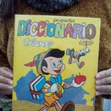 Libros de segunda mano: TUBAL PEQUEÑO DICCIONARIO DISNEY 27 CM 400 GRS 1973 100 PG. Lote 112328751