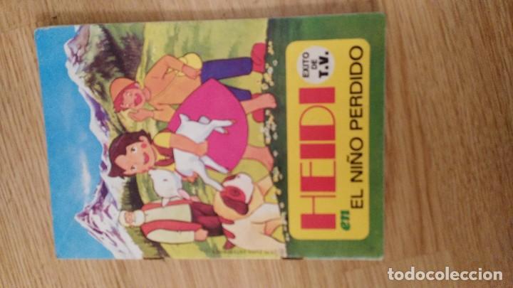 ANTIGUO CUENTO TROQUELADO DE HEIDI - HEIDI EN EL NIÑO PERDIDO - EDITORIAL BRUGUERA - (Libros de Segunda Mano - Literatura Infantil y Juvenil - Cuentos)