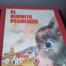 Libros de segunda mano: EL BURRITO PEGACOCES - SM - 1983 - LECTURAS. Lote 112616759