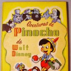 Libros de segunda mano: AVENTURAS DE PINOCHO. WALT DISNEY. EDITORIAL VILCAR. BARCELONA. AÑOS 50. 3ª EDICIÓN. BUEN ESTADO. Lote 112879795