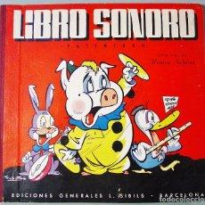 Libros de segunda mano: LIBRO SONORO. RAMÓN SABATÉS. EDITORIAL L. SIBILS. BARCELONA. AÑOS 50. BUEN ESTADO.. Lote 112882435