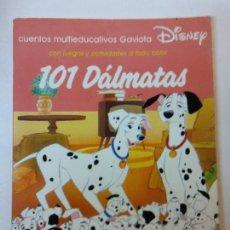 Libros de segunda mano: BJS.101 DALMATAS. CUENTOS MULTICOLOR. DISNEY. Lote 112976535