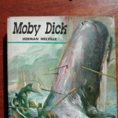 Libros de segunda mano: LIBRO ILUSTRADO - MOBY DICK. HERMAN MELVILLE - COL. AURIGA, SERIE AZUL. ED. IDAG. AFHA. PRIMERA ED. Lote 113163118