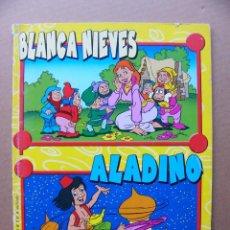 Libros de segunda mano: LIBRO DE CUENTOS INFANTIL BLANCANIEVES Y ALADINO COLECCION CUENTOS DE SIEMPRE Nº 2 EDITORIAL EDIDER. Lote 113359639