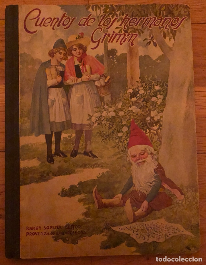 CUENTOS DE LOS HERMANOS GRIMM. (Libros de Segunda Mano - Literatura Infantil y Juvenil - Cuentos)