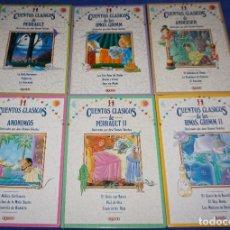 Libros de segunda mano: CUENTOS CLÁSICOS - JOSE RAMÓN SÁNCHEZ - ALGAIDA - COLECCIÓN COMPLETA (2004). Lote 121213940