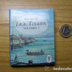 Libros de segunda mano: 3 LIBROS EN MINIATURA,POEMAS DE J.R.R.TOLKIEN,1992,NUEVOS,AUTOR EL SEÑOR DE LOS ANILLOS, EL HOBBIT. Lote 113940667